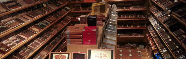 Large walk-in humidor