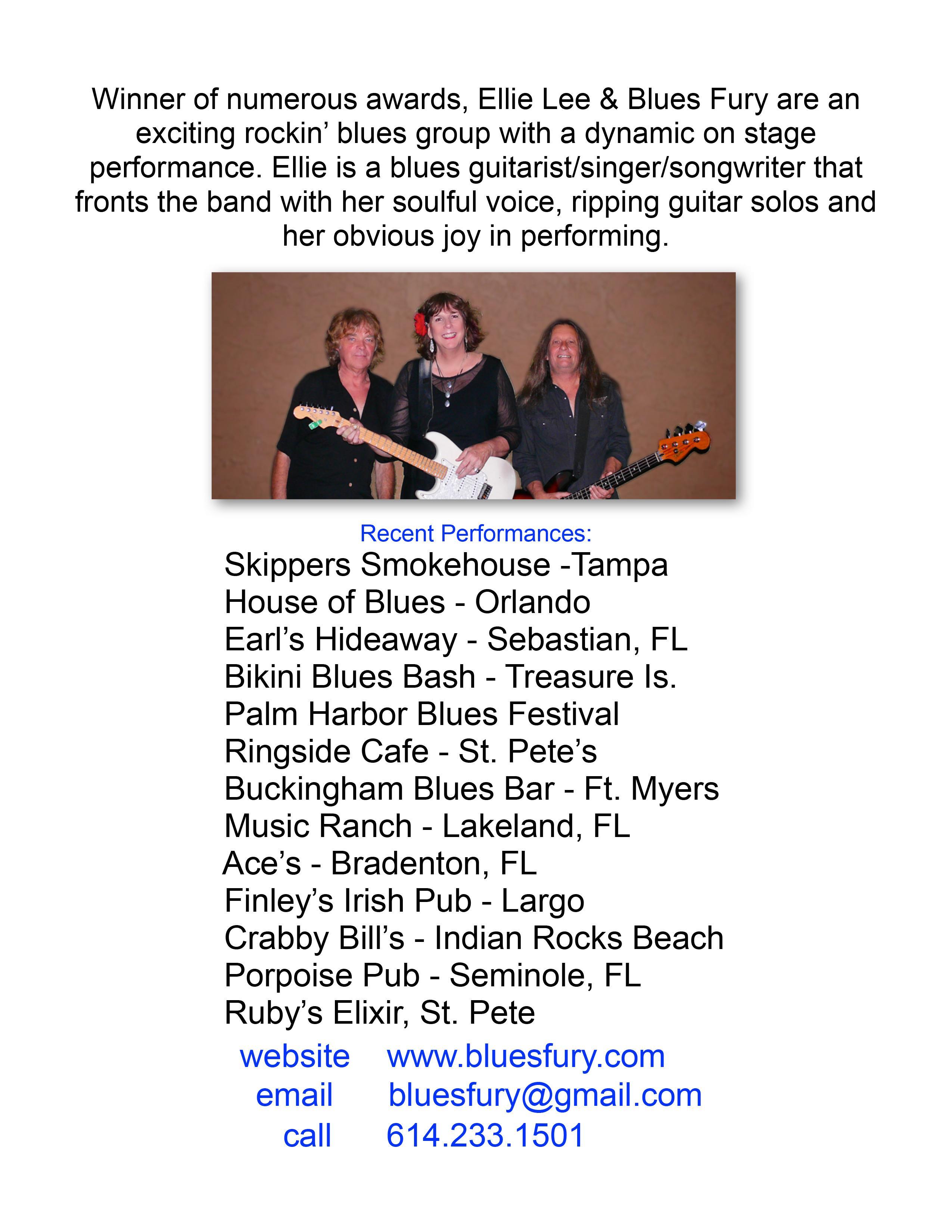 Band Bio Sheet